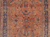 Area Rugs Larger Than 9×12 Antique All Over 9×12 Bakshaish Heriz Serapi Persian
