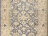 """Area Rugs Little Rock Ar E Of A Kind Oushak Pax Hand Knotted 9 5"""" X 11 10"""" Wool Blue area Rug"""