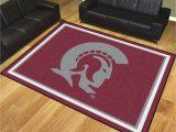 Area Rugs Little Rock Arkansas University Of Arkansas Little Rock Trojans area Rug 8 X 10