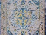 "Area Rugs Made In Turkey Ladole Rugs Modena Traditional Design Turkish Machine Made Beautiful Indoor area Rug Carpet In Blue Multicolor 5 3"" X 7 6"""
