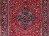 Area Rugs On Sale for Black Friday Black Friday Deal Floral Red Sarouk oriental Hand Knotted area Rug Medallion Wool Carpet 8×11 Walmart