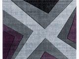 Area Rugs Purple and Gray Zonia Plum Black Gray area Rug