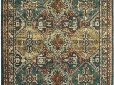 Area Rugs Teal and Brown oriental Weavers Dawson 8527a area Rugs