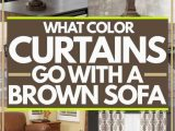 Area Rugs that Go with Dark Brown Furniture What Color Curtains Go with A Brown sofa Home Decor Bliss