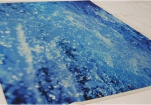 Area Rugs that Look Like Water Print On Carpet One Off Dye Sub Carpet Made to Look Like