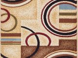 """Area Rugs Under 100 Dollars Well Woven Barclay Arcs & Shapes Ivory Modern Geometric area Rug 2 3"""" X 3 11"""""""