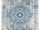 """Area Rugs with Blue Accents Home Accents Harput 7 10"""" X 10 3"""" area Rug Blue"""