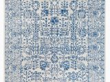 """Area Rugs with Blue Accents Home Accents Harput 7 10"""" X 10 3"""" area Rug Dark Blue"""