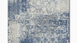 Area Rugs with Blue and Gray Gossamer Blue Grey area Rug