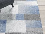 Area Rugs with Blue and Gray Rugs area Rugs Carpets 8×10 Rug Modern Large Floor Room Blue