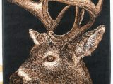 Area Rugs with Deer On them Amazon Whitetail Deer area Rug Furniture & Decor