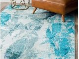 Area Rugs with Fish On them Amazon Ln 5×8 Blue White Natuical Fish area Rug