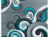 Area Rugs with Grey and Turquoise United Weavers Bristol 2050 Rhiannon Turquoise area Rug