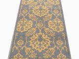 Area Rugs with Non Slip Backing Braud Non Slip Backed Gold area Rug