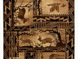Area Rugs with Wildlife theme Allport High Quality Woven Ultra soft southwest Wilderness theme Berber area Rug