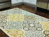 Area Rugs with Yellow Accents Kitchen Rug Purchased From Overstock Blue Grey