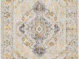Area Rugs with Yellow Accents Leaver oriental Yellow area Rug