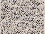 Art Van area Rugs 8×10 Antique Vintage Lila Rug Color Ivory Navy Size 8 X 10