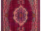 "Art Van Clearance area Rugs Red Turkish Vintage area Rug 5 6"" X 8 8"" 66 In X 104 In"