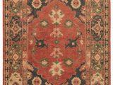 Artemis Blue orange area Rug Azra Hand Knotted Floral Red & Black area Rug – Burke Decor