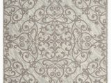 Ashley Furniture 8×10 area Rugs Home Accents Damask 8 X 10 Rug Gray Ivory