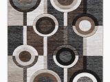 Ashley Home Store area Rugs ashley Furniture Guintte Medium Rug In Black Brown Cream
