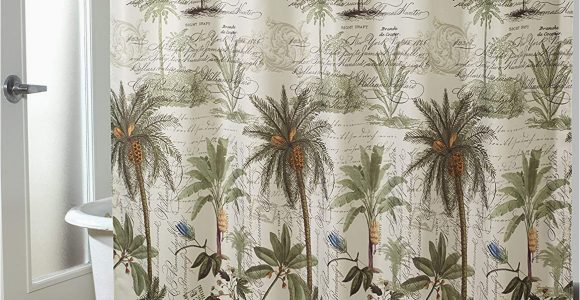 Avanti Banana Palm Bath Rug Avanti Linens Colony Palm Bath Rug Ivory