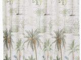 Avanti Banana Palm Bath Rug Avanti Linens Colony Palm72 X 72 Shower Curtainivory Green and Brown