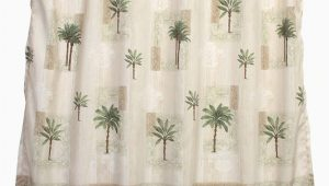 Bacova Citrus Palm Bath Rug Bacova Guild Citrus Palm Fabric Shower Curtain Beige Green