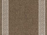 Balta Opening Night area Rug Greek Key High Quality Indoor Outdoor area Rug Brown