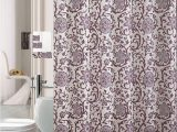 Bath Rug and towel Sets 18 Piece Bath Rug Set Lavender Purple Silver Grey Print Bathroom Rugs Shower Curtain Rings and towels Sets Glory Purple Walmart