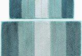 Bath Rug Non Skid Backing Wovwvool Bathroom Rugs Plush Mat Polyester Microfiber Non Slipsoftabsorbent and Machine 20a—32 and 18a—26 Aqua Greeni¼‰