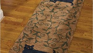 Bath Rug Runner 24 X 72 Park Designs Cat Hooked Rug Runner 24×72 24 X 72