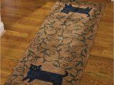 Bath Rug Runner 72 Park Designs Cat Hooked Rug Runner 24×72 24 X 72