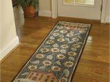 Bathroom Rug Runner 24 X 72 450 37 House & Sunflower Hooked Rug Runner Size 24 X 72
