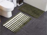 """Bathroom Rug Set Green Amazon Bathroom Rug Mat 20""""x 32"""" Green Set Of 2 Pack"""