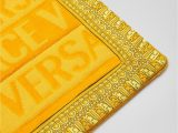 Bathroom Rug Sets Yellow Versace Versace Logo Bath Mat Home Collection