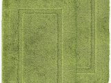 Bathroom Rugs Lime Green ashley Mills Non Slip Plain Border soft Pile 2 X Bath Mat Plain Floor Rug Lime Green