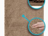 Bathroom Rugs Non Slip Backing Luxe Rug Luxuriously Plush Microfiber Bathroom Rugs Non Slip Backing 19 5 X 31 5 In