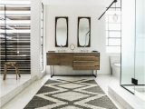 Bathroom Rugs Wall to Wall southwestern Bathroom Rugs with Scandinavian Bathroom and