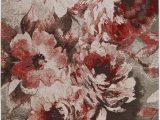 Bazaar area Rug Faux Fur Art Carpet Bazaar Confetti Flat Woven area Rug Floral 5 X 7