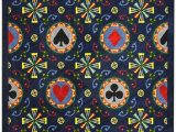 Bazaar Gemma Gold area Rug Amazon Joy Carpets Games People Play Stacked Deck