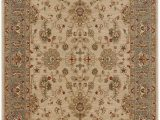 """Bazaar Piper Snow area Rug 8 8"""" X 12 area Rug Beige Candy Apple Red Persian Pattern Traditional Classic"""