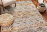 """Bed and Bath area Rugs Well Woven Elu Cream Vintage Panel Pattern area Rug 5×7 5 3"""" X 7 3"""""""