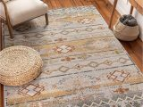 """Bed Bath and Beyond area Rugs 5×8 Well Woven Elu Cream Vintage Panel Pattern area Rug 5×7 5 3"""" X 7 3"""""""