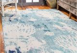 Bed Bath and Beyond area Rugs 9×12 Amazon Com Unique Loom Positano Collection Coastal Modern