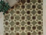 Bed Bath and Beyond area Rugs 9×12 Cugina Geometric Hand Knotted 9 X 12 Wool Green Brown area Rug