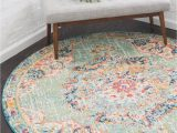 Bed Bath and Beyond Round Rugs Green 3 3 X 3 3 Madeline Round Rug Rugs Com Round Rug