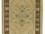 """Beige and Brown area Rugs Beige Brown All Wool Hand Knotted Vintage area Rug 3 5"""" X 6 6"""" 41 In X 78 In"""