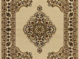 Beige and Brown area Rugs Benny Medallion Beige Brown area Rug
